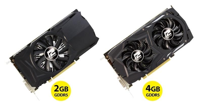 PowerColor AMD Radeon RX 460 Red Dragon 2GB 4GB v2