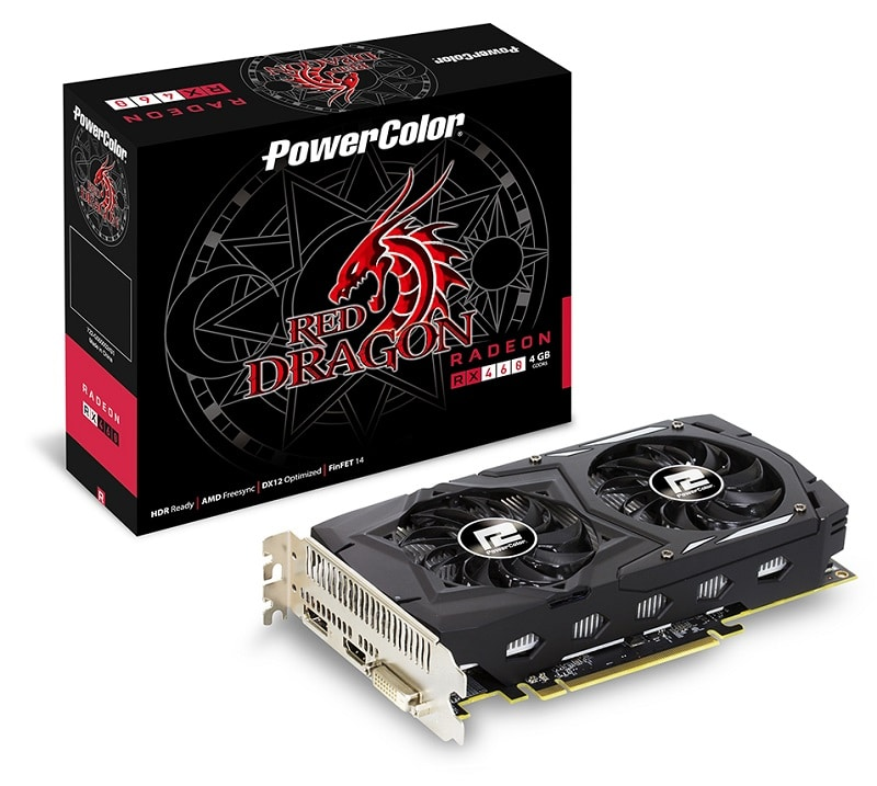 PowerColor Releases Two RX 460 Red Dragon Graphics Cards