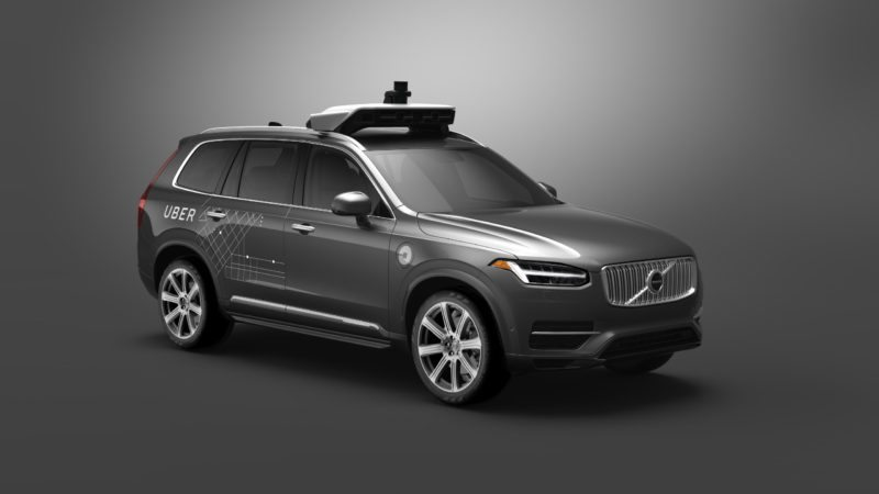 Uber Teams Up With Volvo to Give Driver Free Rides