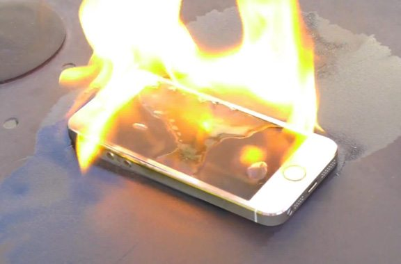 iPhone Causes Severe Burns After Man Falls Off Bike