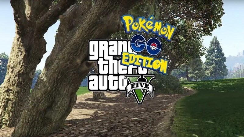Pokémon GO Playable in GTA V Thanks to This Awesome Mod