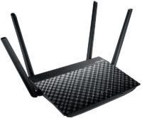 ASUS RT AC58U AC1300 Dual Band Wi Fi Router Left Side