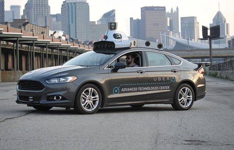 Self-Driving Ubers Spotted in San Francisco