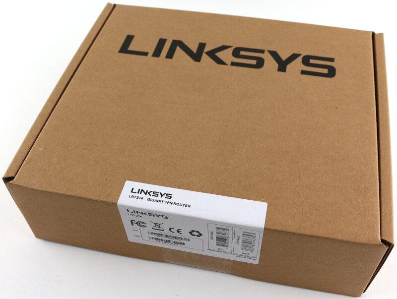 Linksys LRT214 photo-box
