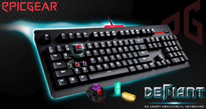 EpicGear DeFiant Mechanical Gaming Keyboard Review