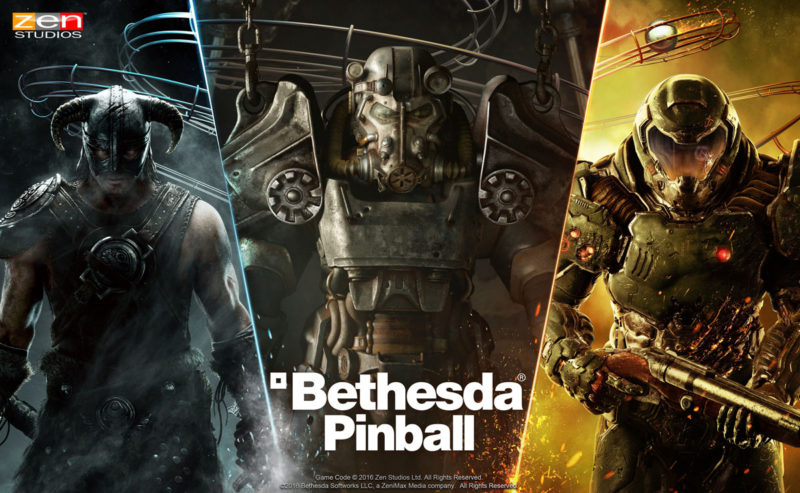 Bethesda Games Heading to Zen Pinball in Latest DLC