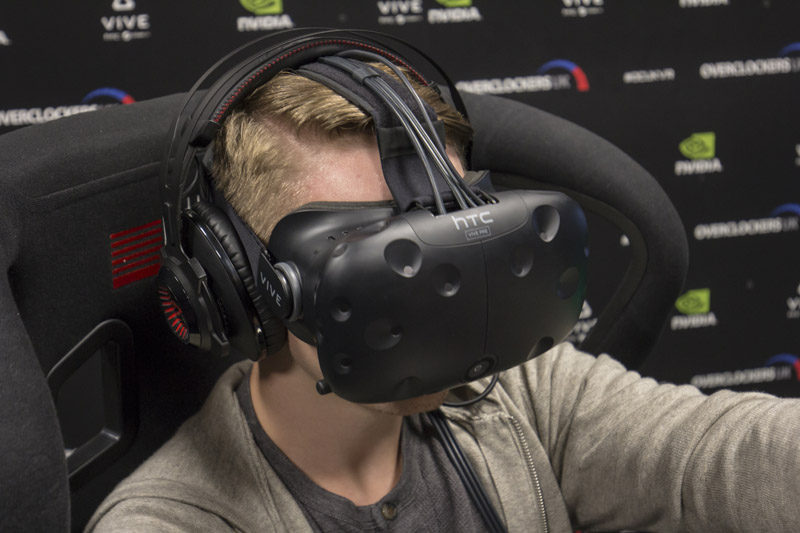 HTC Vive Racing 2