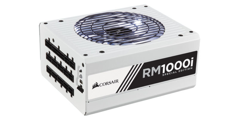 Corsair Celebrates 10 Years of PSUs With RM1000i Special Edition