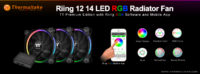 Thermaltake Introduces new Riing RGB Mobile App for the Riing RGB Radiator Fan TT Premium Edition Series