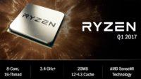 AMD Ryzen Zen CPU Processor