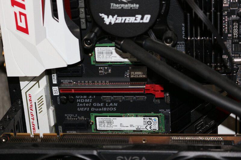 RAID 0 setup 1