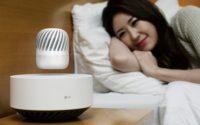 LG model PJ9 levitating speaker