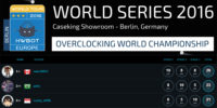 HWBOT World OC Championships 2016