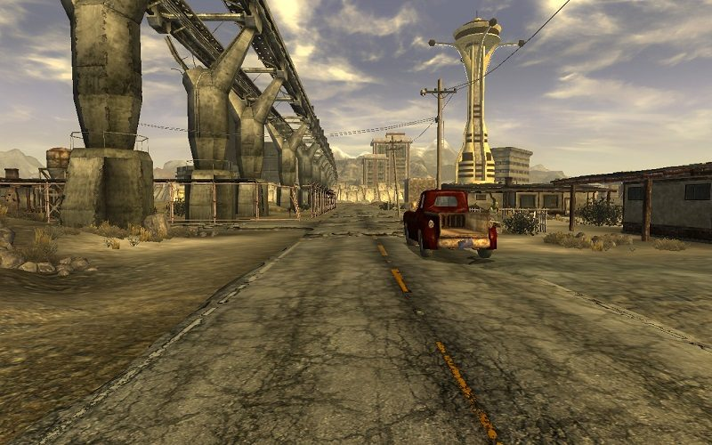 Mod Adds Moving Vehicles to Fallout: New Vegas