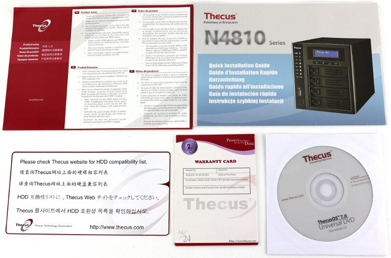 thecus-n4810-photo-box-papers-and-disk