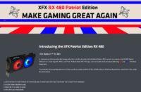 XFX RX 480 Patriot Edition