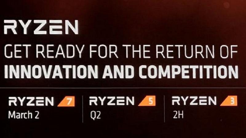 AMD Ryzen 5 Ryzen 3 Zen