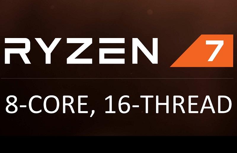 AMD Ryzen R7 Launch Logo