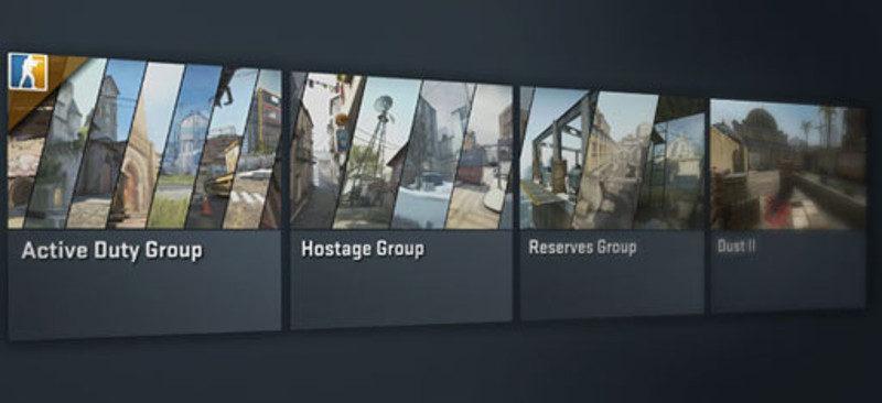 CSGO map groups