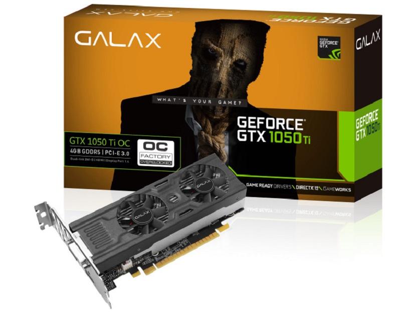 GALAX GTX 1050 TI OC Low Profile 1