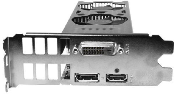 GALAX GTX 1050 TI OC Low Profile 3