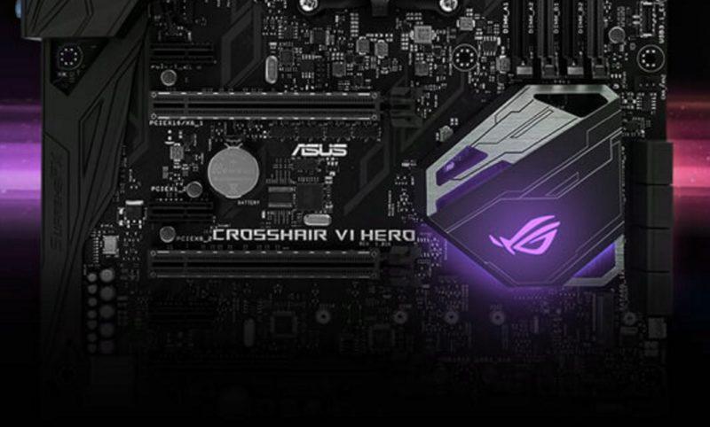 ASUS RoG Crosshair VI Hero X370 Motherboard Review