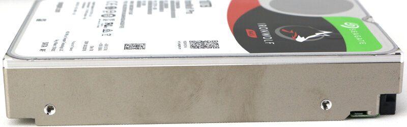 Seagate IronWolf Pro 10TB Photo side