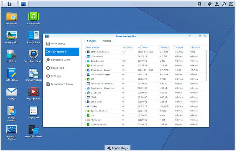 Synology DSM 6.1 resource_monitor_01