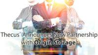 Thecus Origin Storage Partnership