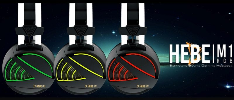 Gamdias HEBE M1 RGB Gaming Headset Review