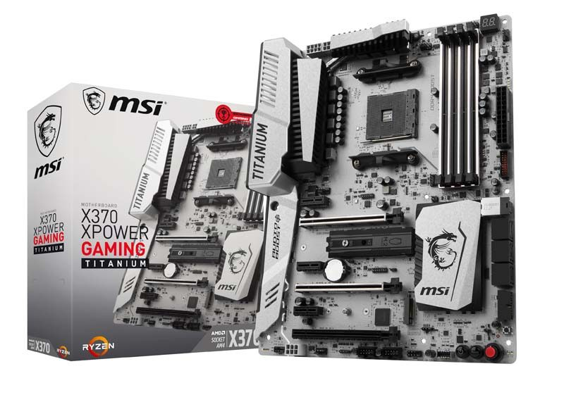 MSI X370 XPOWER Gaming Titanium Ryzen Motherboard Review