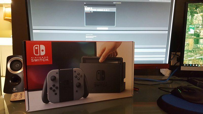 Leaked Nintendo Switch was Stolen