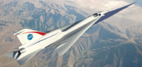 NASA Begins Testing X-Plane with Quiet Supersonic Technology