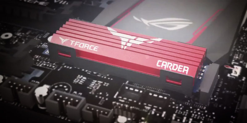 Team Group T-Force Cardea M.2 SSD Comes with a Heatsink