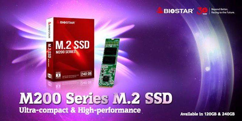 Biostar M200 M2 SSD
