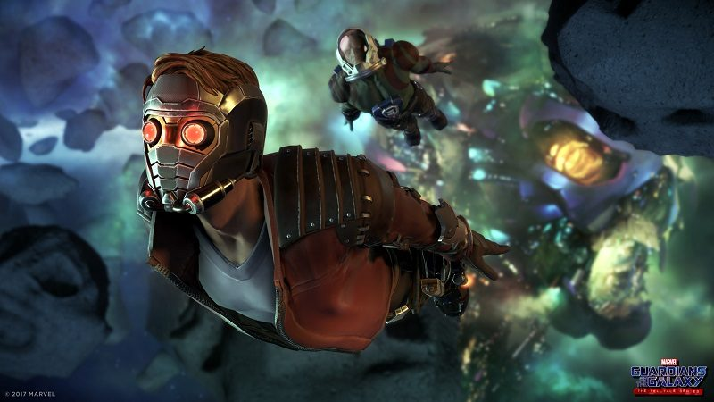 Telltale Reveals Guardians of the Galaxy Game Series Cast