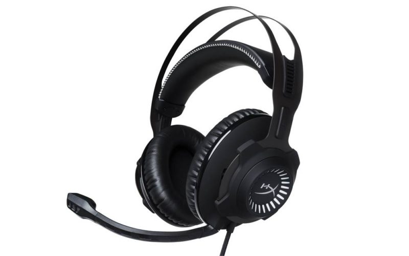 HyperX Revolver S Gaming Headset Front Angle