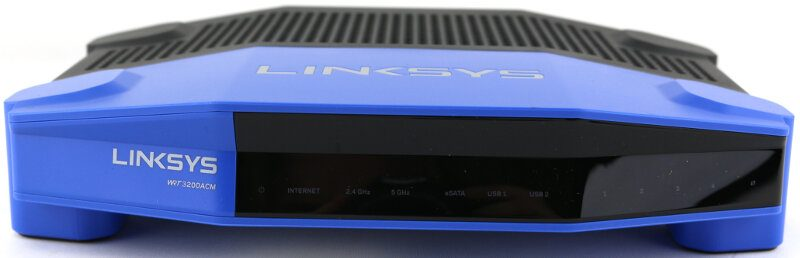 Linksys WRT3200ACM Photo view front