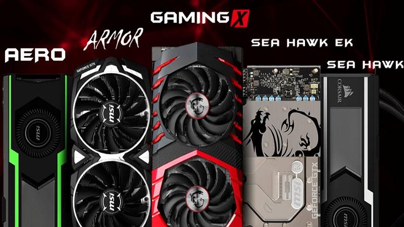 MSI Nvidia GeForce GTX 1080 Ti Full Lineup