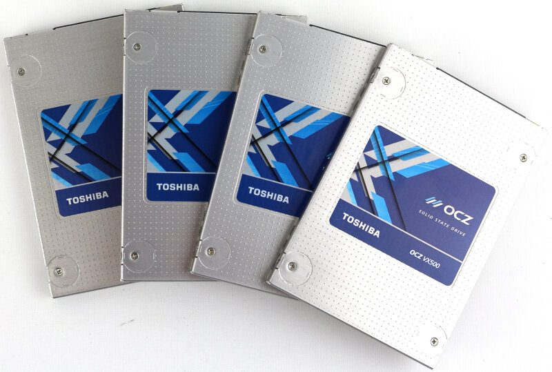 Toshiba OCZ VX500 512GB in 4-Disk RAID Review