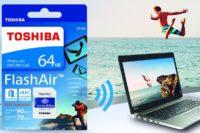 Toshiba 4th Gen Wireless SD card