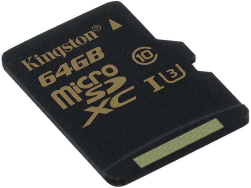 kingston Gold microSD UHS I C3 SDCG 64GB 1