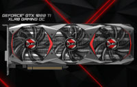 PNY GeForce GTX 1080 Ti XLR8 Gaming OC Video Card Details Surface