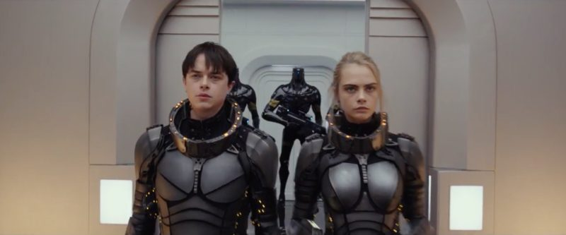 New Trailer for Sci-Fi Epic Valerian and the City of a Thousand Planets Released