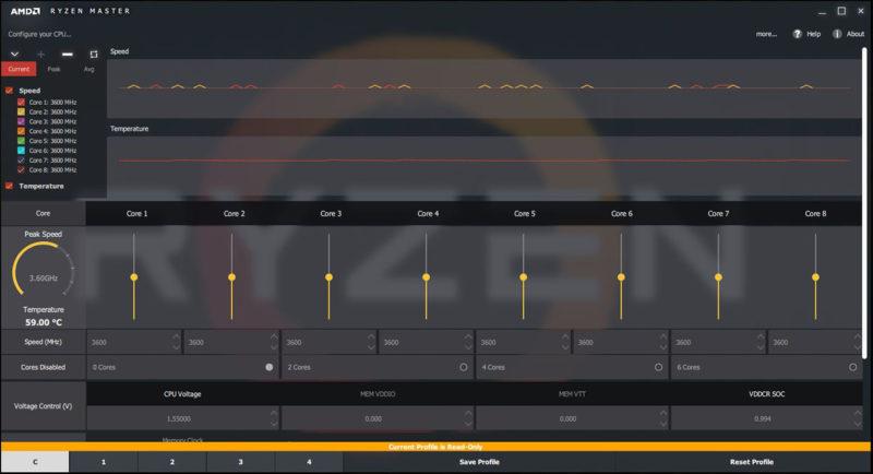 AMD Ryzen Master Software Update Fixes CPU Temperature Issues