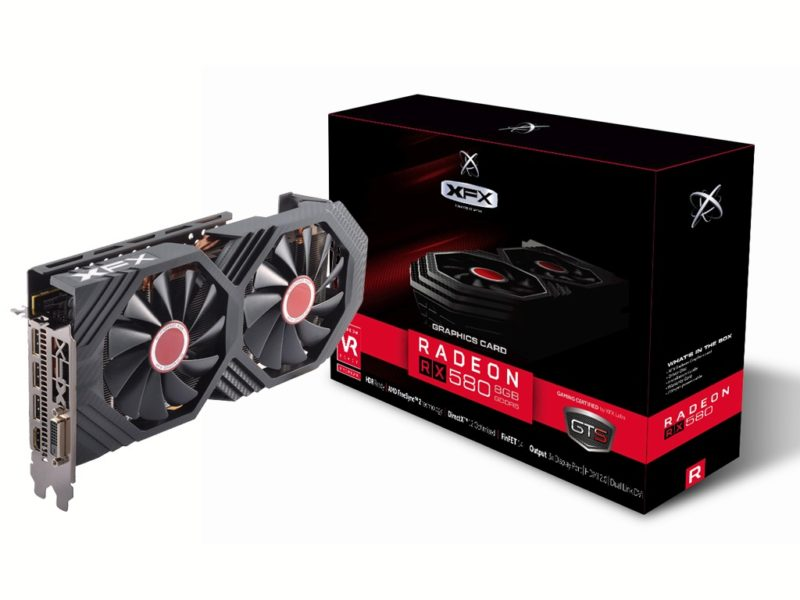 XFX Announces Five Radeon RX 580 Graphics Card Models
