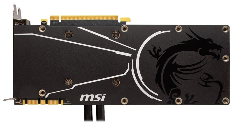 MSI and Corsair Partner Up to Launch Hydro GFX GTX 1080 Ti