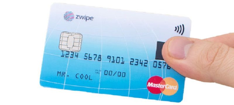 MasterCard Zwipe finger print credit card