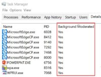 Microsoft Windows 10 Power Throttling 1