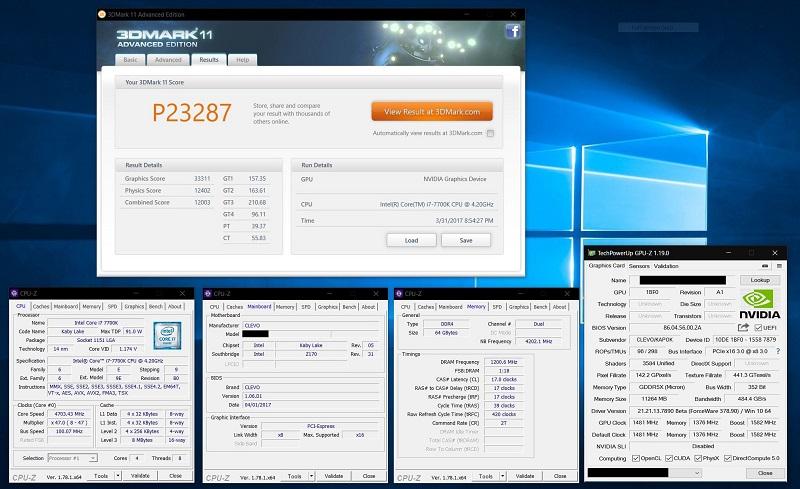 Nvidia GeForce GTX 1080 Ti Mobile GPU MXM